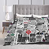 YouQint Wise Words from The Office - The Office Quotes 1 Ultra-Soft Micro Fleece Blanket 60'' x50