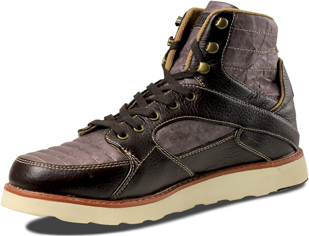 Unstitched Utilities Men's Tango Boot Max 54% Surprise price OFF 9 US Dark Tyvek Chocolate