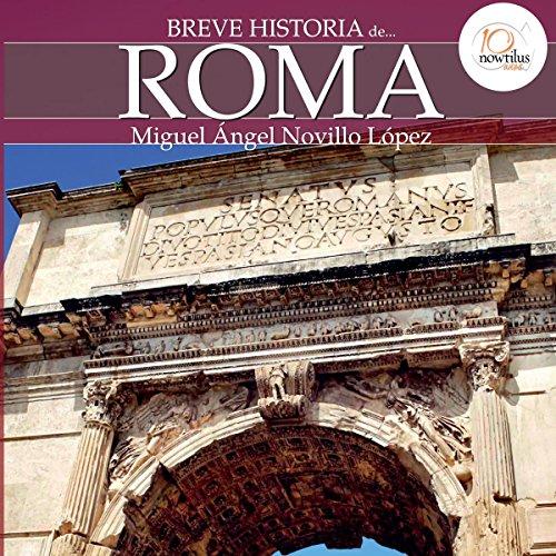 Breve historia de Roma audiobook cover art