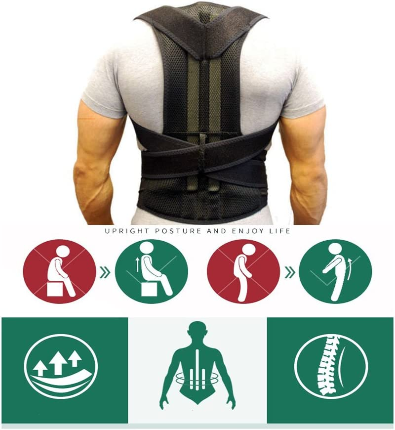 Comfort Posture Cheap mail order sales Corrector Directly managed store and Back Pain Reli Support Brace
