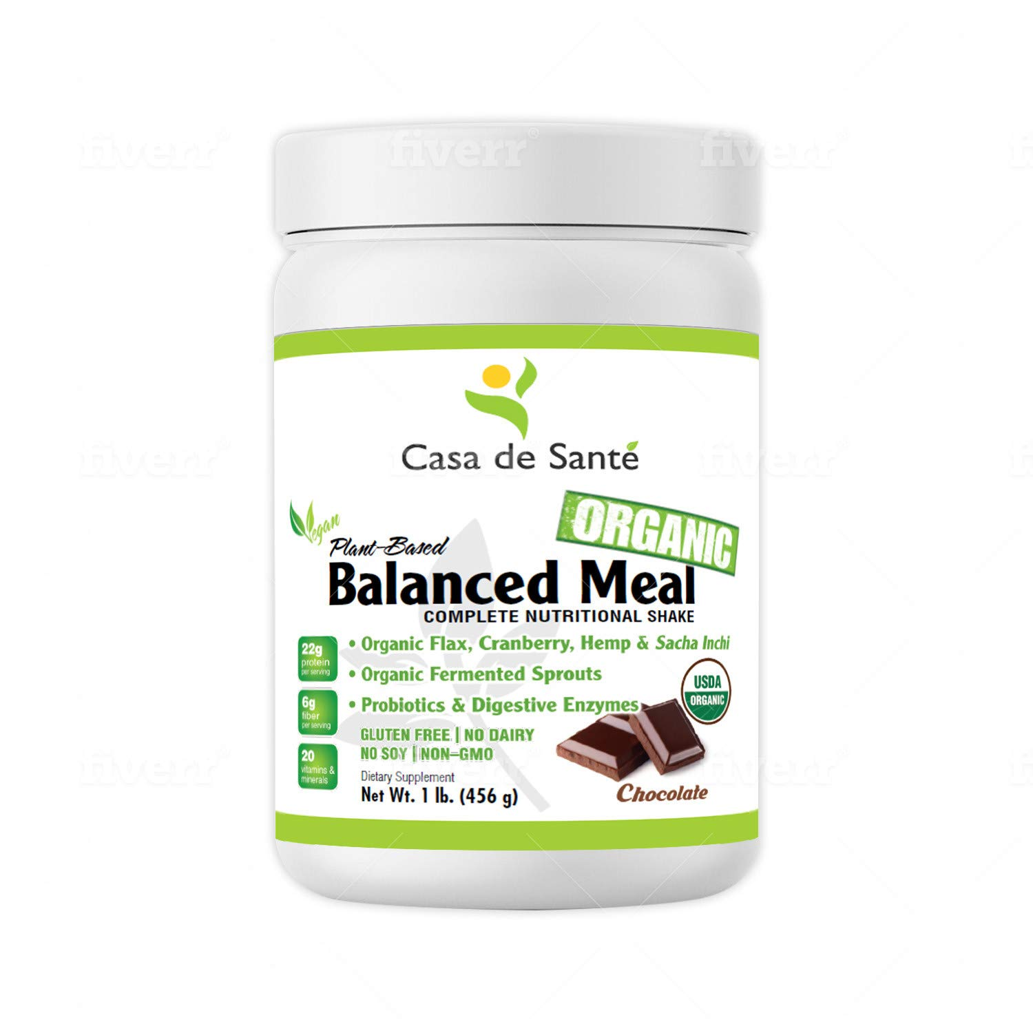 Low FODMAP High Protein Keto Ve Paleo Challenge the lowest price of Japan ☆ quality new Organic Replacement Meal