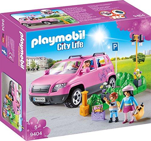PLAYMOBIL City Life 9404 Familien-PKW mit Parkbucht, Ab 5 Jahren