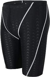 RuthBuck Professional Men Competitive Swim Trunks Plus Size XL-5XL