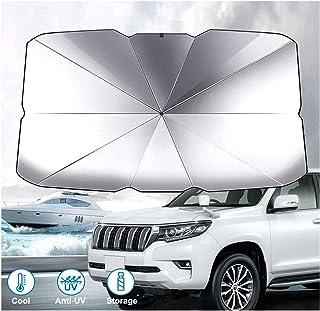 Car windshield sunshade, umbrella car sunshade used for windshield, can keep the car cool and undamaged, block high temper...