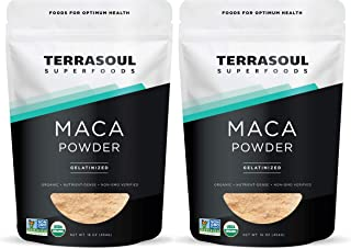 Terrasoul Superfoods Organic Gelatinized Maca Powder, 2 Lbs - Premium Quality | Supports Increased Stamina & Energy | Gela...