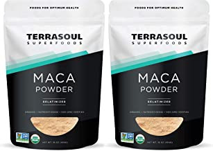 Terrasoul Superfoods Organic Gelatinized Maca Powder, 2 Lbs - Premium Quality | Supports Increased Stamina & Energy | Gelatinized for Easy Digestion