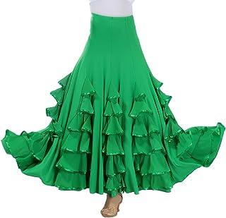 Tookang Flamenco Falda Grande del Columpio Vestido de Baile