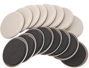 Ezprotekt Herbruikbare Meubilair Sliders en Gliders 3.5 Inch voor Tapijtoppervlakken - Zware Meubilair Snel en Gemakkelijk...