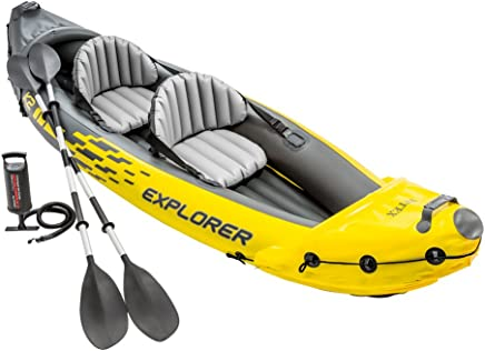 Intex Explorer K2 Two-Person Kayak with Oars + Pump