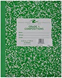 School Smart Skip-A-Line Ruled Composition Book, Grade 1, Green, 48 Pages