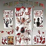 5 Stücke Halloween Fenster Tür Dekoration Abdeckungen