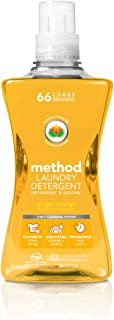 Method 4X Concentrated Laundry Detergent, Ginger Mango, 1.58L