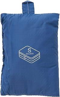 MUJI Double Gusset Case, Blue - Small/20 x 26 x 10cm