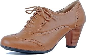 vintage kitten heel boots