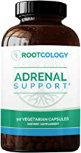 Adrenal Support - Rootcology Adaptogenic Herbal Formula with Vitamin B6, Licorice & N-Acetyl-L-Tyrosine by Izabella Wentz Author of The Hashimoto's Protocol (90 Capsules)