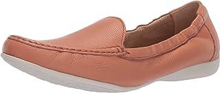 Driver Club USA Women's Leather Made in Brazil Venetian Scrunch Back Loafer Flat