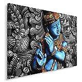 Feeby. Cuadro en lienzo - 1 Parte - 60x80 cm, Imagen impresión Pintura decoración Cuadros de una...