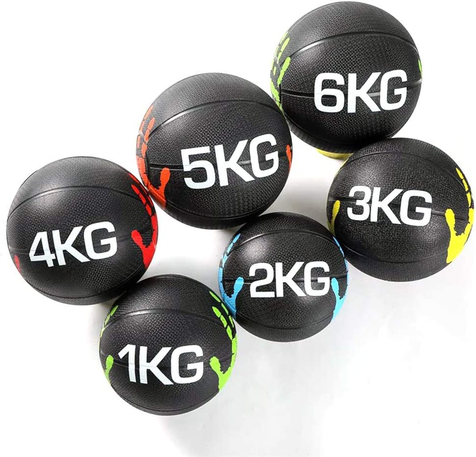 Medicine Balls AGYH 2021 new Solid Rubber Bouncy Fitn Ball Gravity Chicago Mall
