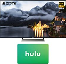 Sony XBR-49X900E 49-inch 4K HDR Ultra HD Smart LED TV (2017 Model) with Hulu 25 Dollar Card