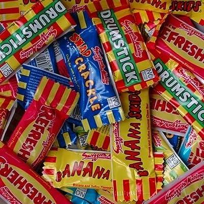 swizzels sweet candy assorted mini me chew bars 500g bag Swizzels Sweet Candy Assorted Mini Me Chew Bars 500g Bag 61q JM2YRXL