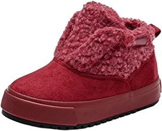 Toddler//Little Kid iDuoDuo Boys Girls High Top Cold Weather Snow Sneakers Winter Sport Shoes