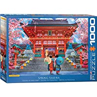 1000-Piece EuroGraphics Spring Sakura by David McLean Puzzle