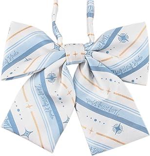 Lovacely Women Handmade Pre-Tied Plaid Bowknot Bow Tie Girls School Uniform Bow Ties