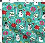 Weihnachten, Schneemann, Zuckerstange, Weihnachtsbaum,