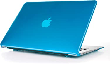 iPearl mCover Hard Shell Cover Case with Free Keyboard Cover for 13.3-inch Apple MacBook Air A1369 & A1466 - Aqua
