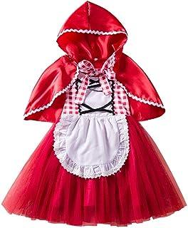 Travestimento per Bambina KIRALOVE Gonna Tutu in Tulle per Bambina Balletto 3 Strati Carnevale Bimba Natale Costume 2-7 Anni -Gonnellina Compleanno Danza Classica Idea Regalo