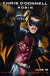 BATMAN FOREVER MOVIE POSTER 1 Sided ORIGINAL Advance 27x40 CHRIS O'CONNELL