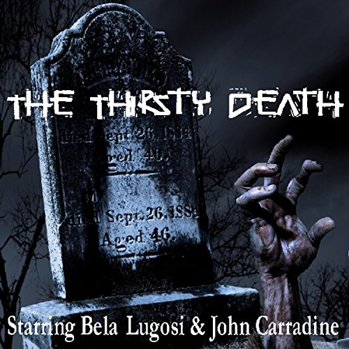 The Thirsty Death audiobook cover art