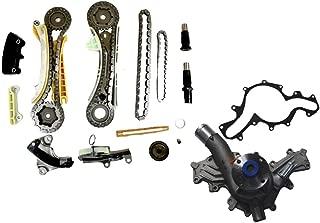 Diamond Power Timing Chain Kit + Water Pump Set works with Ford Explorer Mazda B4000 Mercury