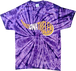 TIE-DYE Purple Minnesota Thielen Hooked on T-Shirt