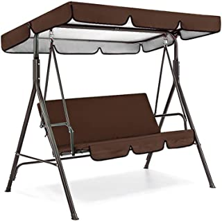 Abimy Swing Seat Cover Chair - Outdoor Swing Canopy Cover Waterproof Shield Patio Garden Yard Outdoor Seat Replacement Eas...