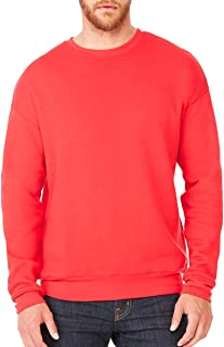 Canvas Men's Classic Soft Style Sweatshirt, Red, X-Large