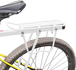 Bicycle Pannier Rack Carrier Bag Luggage Cycle Mountain Bike with Reflector Q9R8