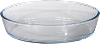 Royalford BRS 3Pcs Oval Glass Baking Tray (1.6+2.4+3 Liter)