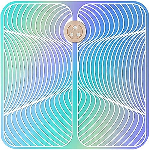XKUN Cojín de Masaje de Pies Inteligente Ems, Cojín de Masaje de Piernas de Pulso Eléctrico, Masajeador de Control Remoto Inalámbrico, Fitness Completo (Tamaño: Modelos de Botón),Modelos de Botones