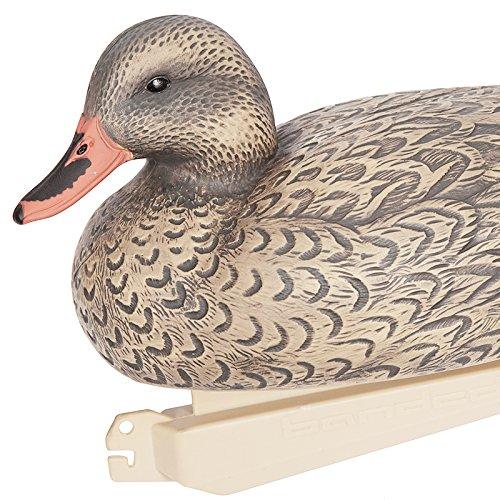 F Fityle Schwimmfigur Ente Tiere Dekofigur Schwimmdeko Schwimmfigur Schwimmente Duck, süßer Hingucker im Garten/Teich
