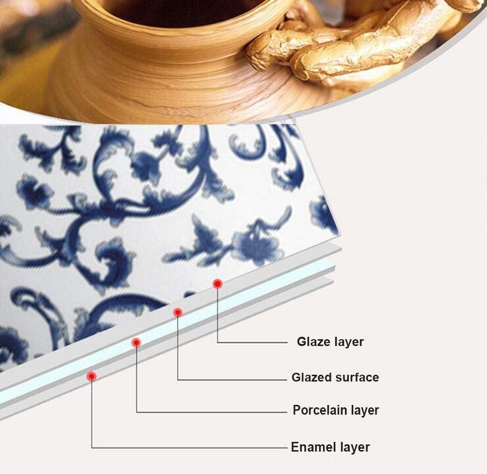 Wyxy Bouilloire électrique sans Fil en céramique Blanche avec théière rétro de 1,2 l, 1000 w Rapide pour Le thé, Le café, la Soupe Rapide (Couleur: A) B