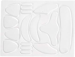 16 Stuks Anti-rimpelpleisters, Herbruikbaar Gezicht Oog Mond Voorhoofd Kin Anti-rimpel Stickers, Anti-fijne Lijntjes Verza...