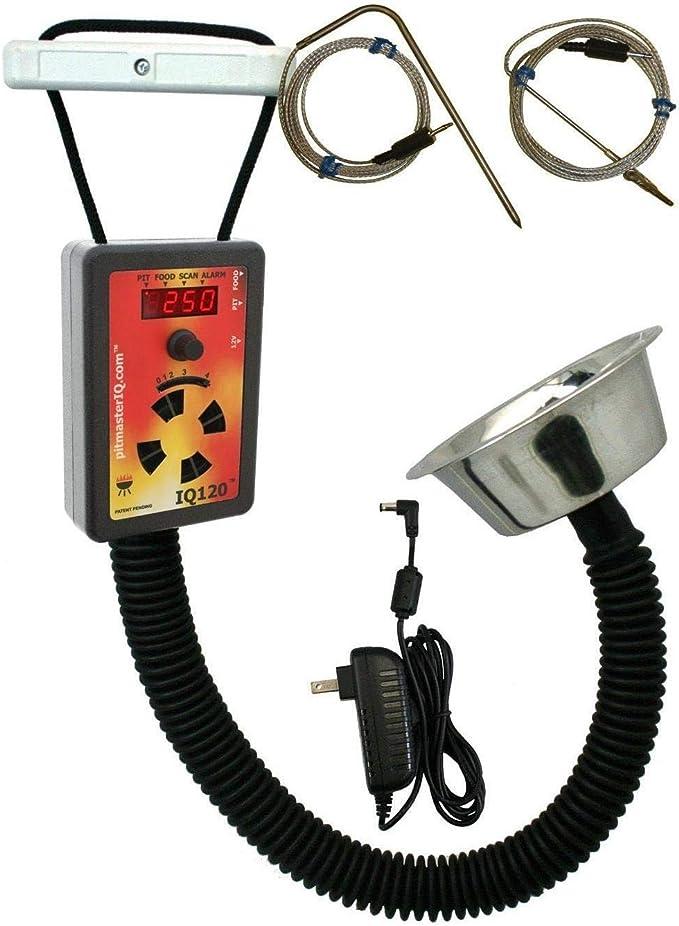 pitmasterIQ IQ120 BBQ Temperature Regulator Kit - A Cheaper Option