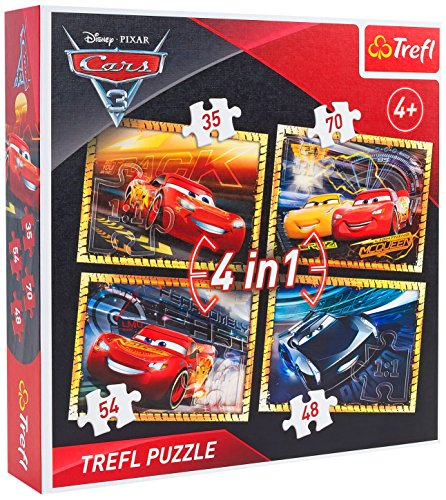 Trefl 07300 Disney Puzzle 4-In-1
