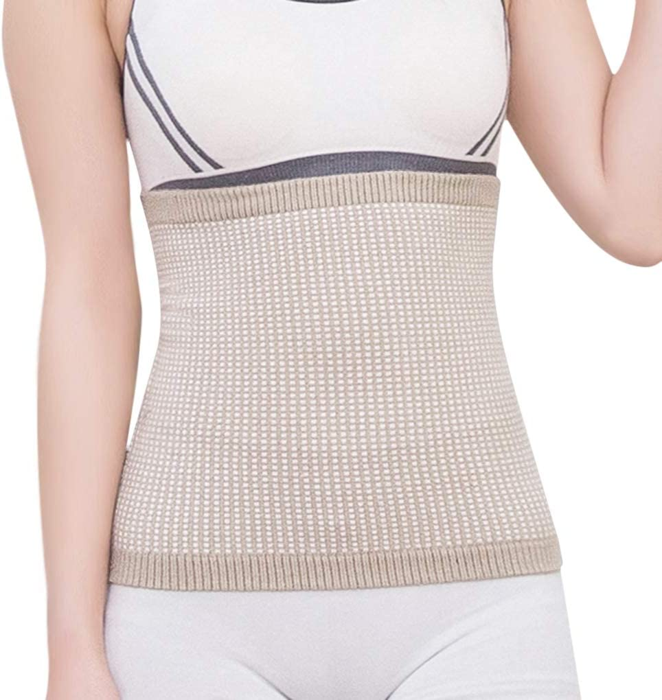 Unisex Tampa Mall Max 40% OFF Warm Cashmere Waistband Abdominal Soft Protector