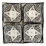 Arredamento Etnico Antipastiera Piatto Ceramica Terracotta Marocchina 1705211003
