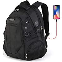 Cross Gear Laptop Backpack with Combination Lock for 17.3
