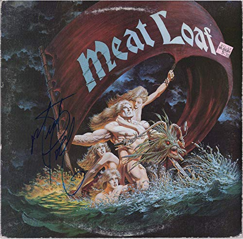 Meat Loaf Autographed Dead Ringer Album Cover - PSA/DNA COA - Fanatics Authentic Certified - Music Albums
