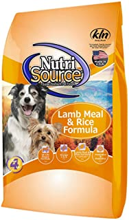 Nutrisource Lamb & Rice Adult Dog Food 30Lb