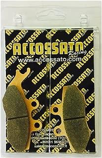 2004 Accossato Pastiglia freno AGPA112ST 1000 CAGIVA  1000 X3 RAPTOR